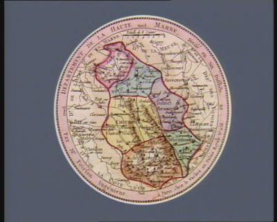 Departement de la Haute Marne divisé en six districts : [estampe]