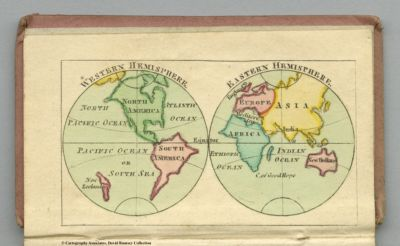 Small And Miniature Atlases Universe Of Maps Opening The David - John wallis map of the us