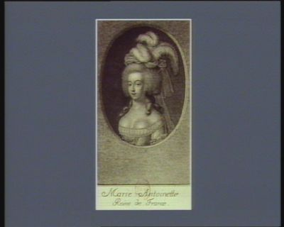 <em>Marie</em> <em>Antoinette</em> Reine de France [estampe]