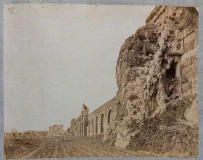 Acquedotto Claudio in congiunzione con l'acquedotto Felice