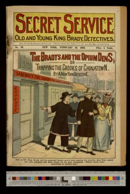 The Bradys and the Opium Dens; or, Trapping the Crooks of Chinatown