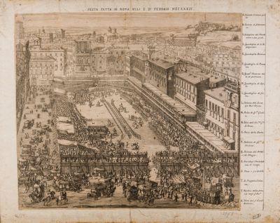 Festa fatta in Roma alli 5 di febbraio 1634