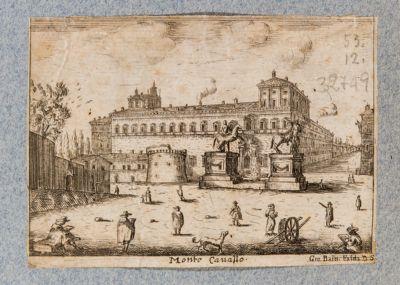 Palazzo del Quirinale, prospetto sulla piazza