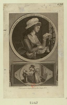 Marie Anne Charlotte Corday, ci-devant Darmans, agée de 25 ans [estampe]