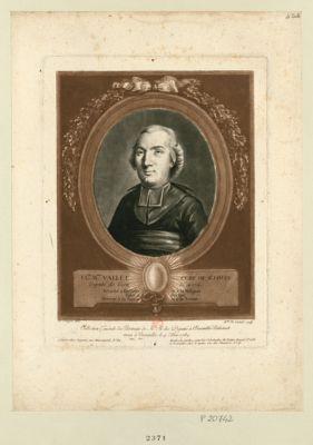 Cl.de B.min Vallet, curé de St. Louis député de Gien né en 1754. Attaché à son ordre et à la religion, fidel à son roi, dévoué à sa patrie et à la <em>nation</em> : [estampe]