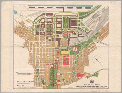 City of Cape Town : Development plan - central city area