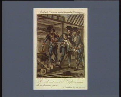Belard volontaire sur le vaisseau La Montagne ils vouloient avoir ce vaisseau mais ils ne l'auront pas. 13 prairial 3.e (1 juin 1793 v.s.) : [estampe]