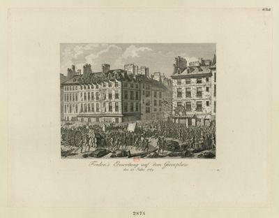 Foulon's Ermordung auf dem Greveplaze den 23 Julius 1789 : [estampe]