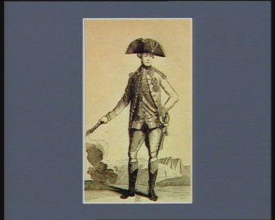 Joseph II Empereur d'Allemagne Roi des Romains le 18 aoust 1765 né à Vienne en Autriche le 13 mars 1741 : [estampe]