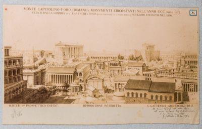 Foro Romano, restauro immaginario