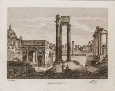 Clivio Capitolino con panorama del Foro