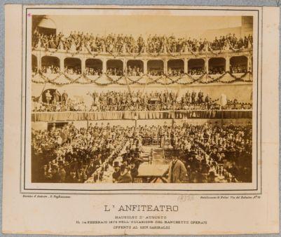L'anfiteatro. Mausoleo di Augusto, il 14 febbraio 1878