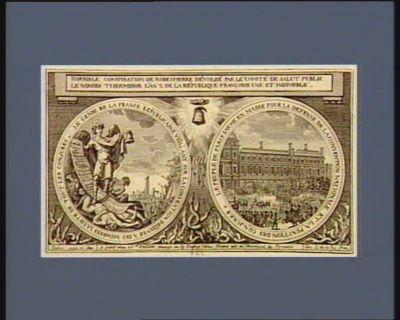 Horrible conspiration de <em>Robespierre</em> dévoilée par le Comité de salut public le nonodi <em>thermidor</em> l'an 2 de la République française une et indivisible... : [estampe]
