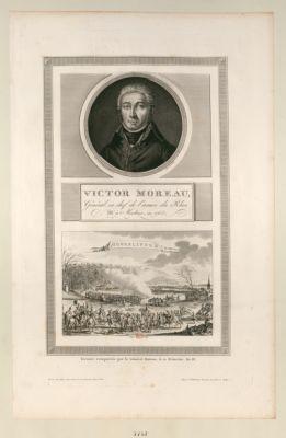Victor Moreau, général en chef de l'armée du Rhin [estampe]
