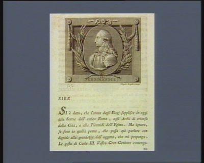 Ferdinandus IV [estampe]