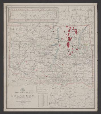 Mountains In Oklahoma Map.Geologic Map Of Western Ouachita Mountains In Parts Of Atoka