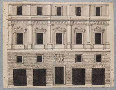 Palazzo Bresciano Giacomo, prospetto