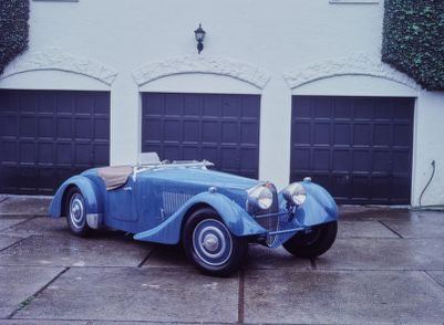 Bugatti Type 57S Corsica Roadster (1937). Road & Track Salon and Miscellaneous Ramblings,  February 1989
