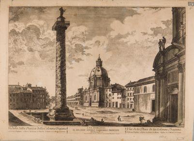 Piazza della Colonna Traiana vista dal lato nord
