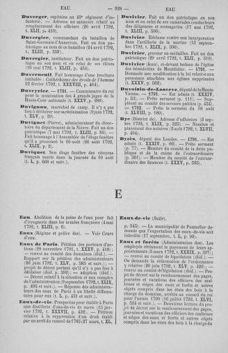 Tome 51 : Table générale alphabétique de l'Assemblée nationale Législative - page 328