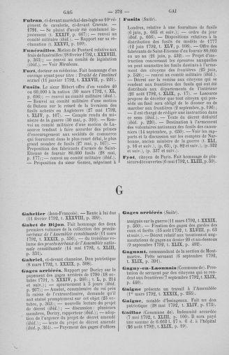 Tome 51 : Table générale alphabétique de l'Assemblée nationale Législative - page 372