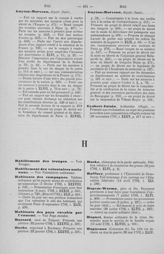 Tome 51 : Table générale alphabétique de l'Assemblée nationale Législative - page 424