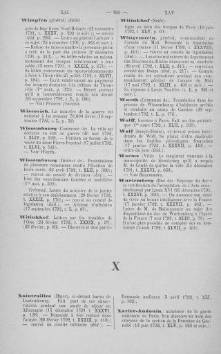 Tome 51 : Table générale alphabétique de l'Assemblée nationale Législative - page 860