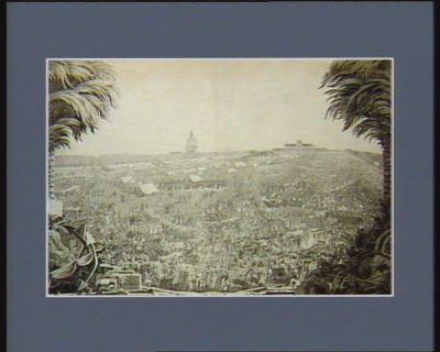 [Travaux au Champ de Mars en vue de la Fête de la Fédération du 14 Juillet 1790] [estampe]