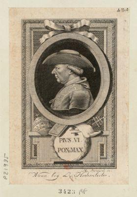 Pius VI Pon. max [estampe]