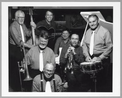 Bob Mielke's New Bearcats: Pete Allen, Bob Miekle, Bill Napier, Tony Marcus, Ray Skjelbred, Jack Minger, Don Marchant