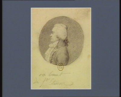 Rabaut de St Etienne [dessin]