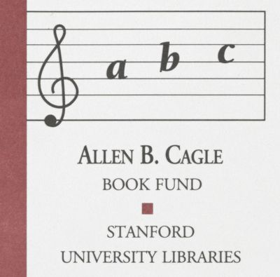 Allen B. Cagle Book Fund