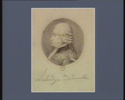 François Louis Hutteau ancien avocat député de <em>Paris</em> 1789 né à Malserbe en 1729 : [dessin]