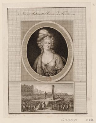 Marie Antoinette reine de France [estampe]
