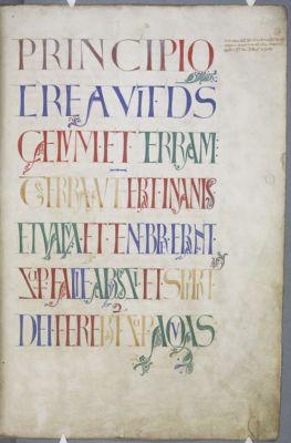 Cambridge, Corpus Christi College, MS 002I: The Bury Bible