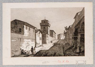 Torre di S. Pietro in Vincoli presso via degli Annibaldi