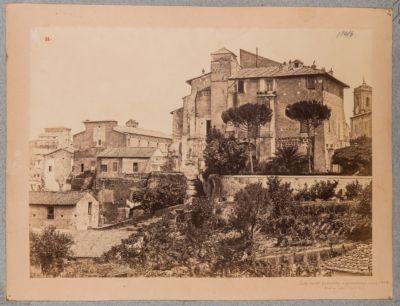Campidoglio, lato ovest, Palazzo dei Conservatori
