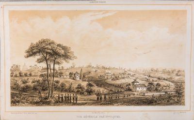 Mura Gianicolensi, attacco delle truppe francesi