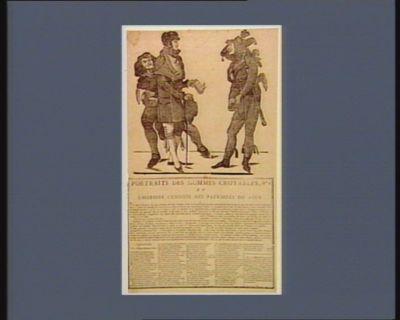 Portraits des hommes croyables, n.o 3 ou l'Histoire curieuse des patriotes du jour [estampe]