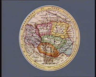 Departement du Gers divisé en 6 districts : [estampe]