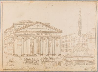 Pantheon, prospetto