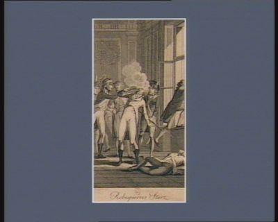 Robespierres Sturz [estampe]