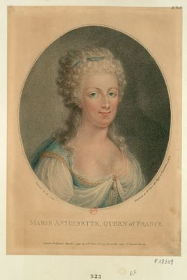 Marie Antoinette Queen of France : [estampe]