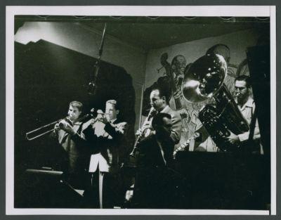 Turk Murphy Jazz Band at Savoy in Boston with Ev Farey on cornet