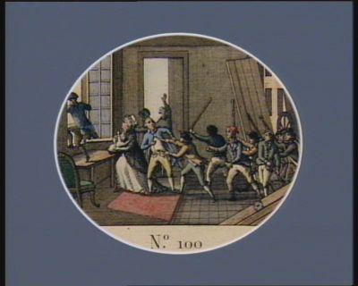 N.o 100 13 janvier, 23 nivose an 1.r de la Rep.que. Assassinat de Basseville... : [estampe]