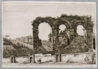 Acquedotto Claudio, resti nei pressi di Via San Gregorio