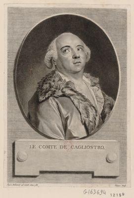 Le  Comte de Cagliostro [estampe]