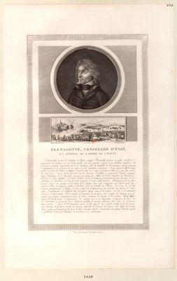 Bernadotte, conseiller d'Etat, et general de l'armée de l'Ouest [estampe]