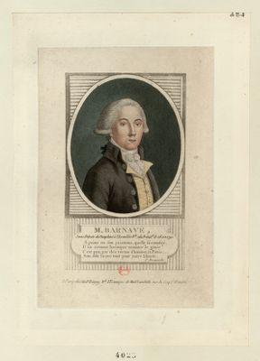 M. Barnave jeune député du Dauphiné à l'Assemblée nationale : [estampe]