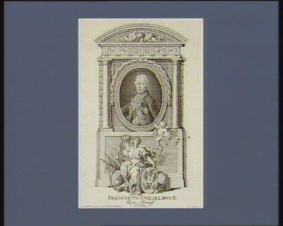 Fridericus Guilielmus II Rex Boruss. El. Br [estampe]
